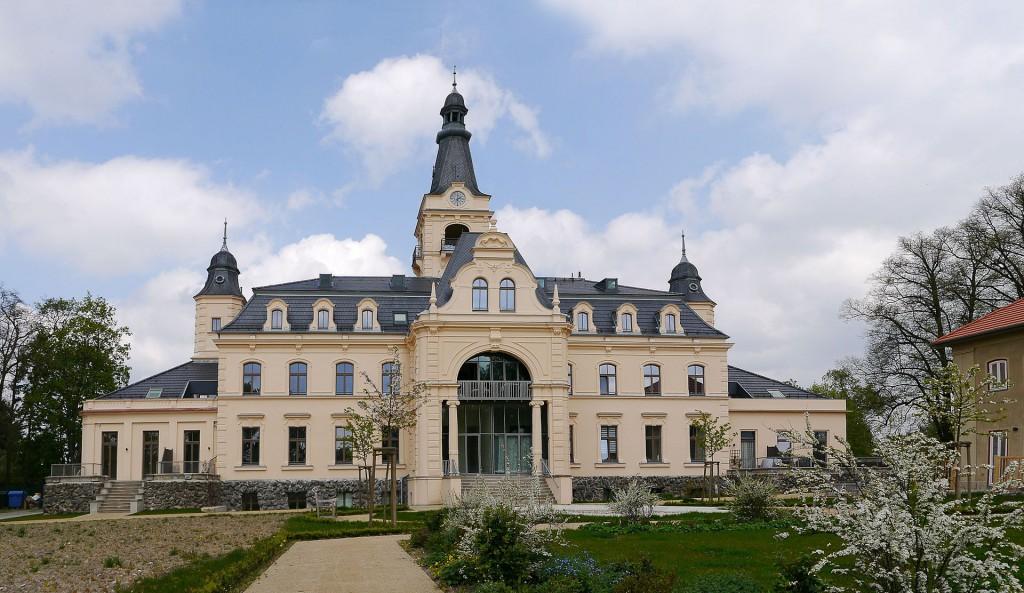 Schloss Güterfelde Parkseite
